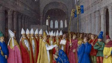 Christmas Day 800: Charlemagne is crowned Holy Roman Emperor