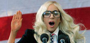Gaga is most giving celeb