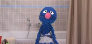 Grover is the new Old Spice guy
