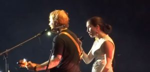 Watch Ed Sheeran Duet With Missy Higgins At Final Show Of Aussie Tour
