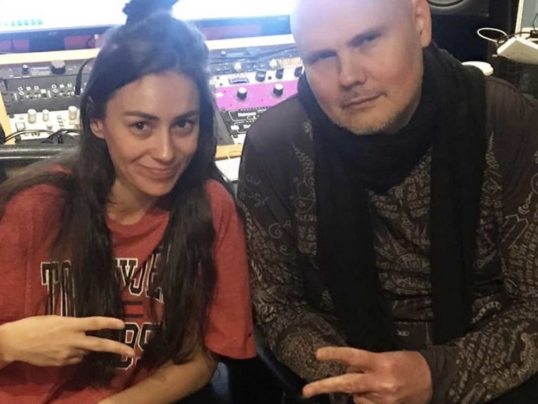 Amy Shark Is Recording New Music With The Smashing Pumpkins' Billy Corgan