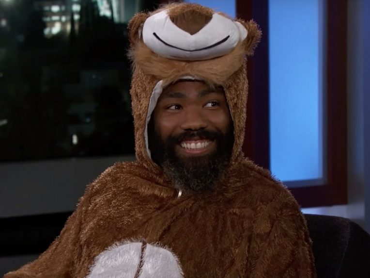 Watch Childish Gambino Talk About His Future In Music While Dressed As Simba
