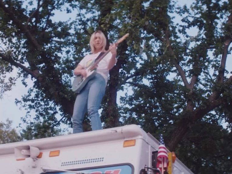 Watch Ali Barter Rock Out On Top Of An Ice-cream Truck In New Clip