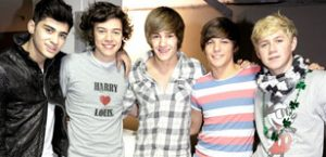 One Direction top the charts