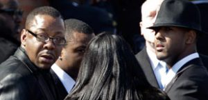 Bobby Brown asked to leave Whitney Houston's funeral