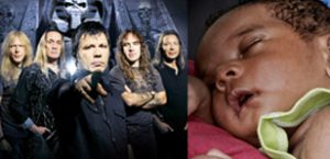 Iron Maiden tunes become lullabies