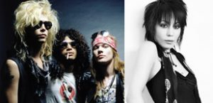 Jett / GNR nominated for Rock and Roll Hall of Fame