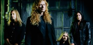 Dave Mustaine suffers through pain