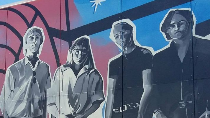 The Saints Mural Unveiled In Brisbane To Celebrate 40th Anniversary