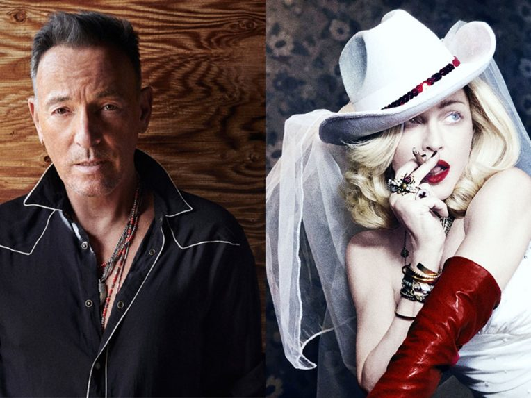 It's A Battle Between The Boss & The Queen Of Pop For #1On This Week's ARIA Albums Chart