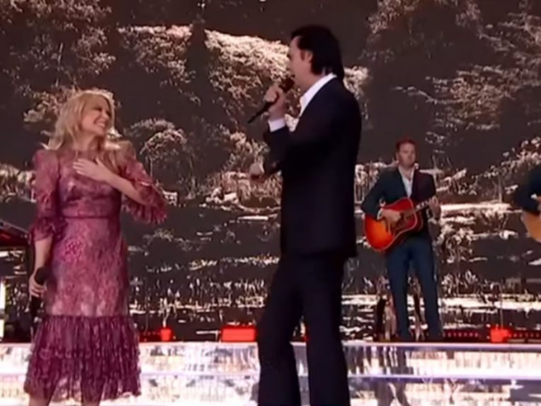 Legends Kylie Minogue & Nick Cave Reunited At Glastonbury (And We Feel Whole Again)