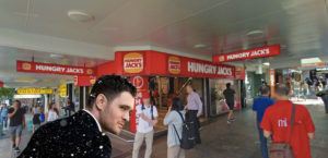 Even Michael Bublé Knows The Cultural Importance Of The Queen St Mall Hungry Jack's