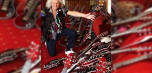 Attention Aussie Queen Fans: Wanna Own A Red Special Guitar Signed By Brian May?