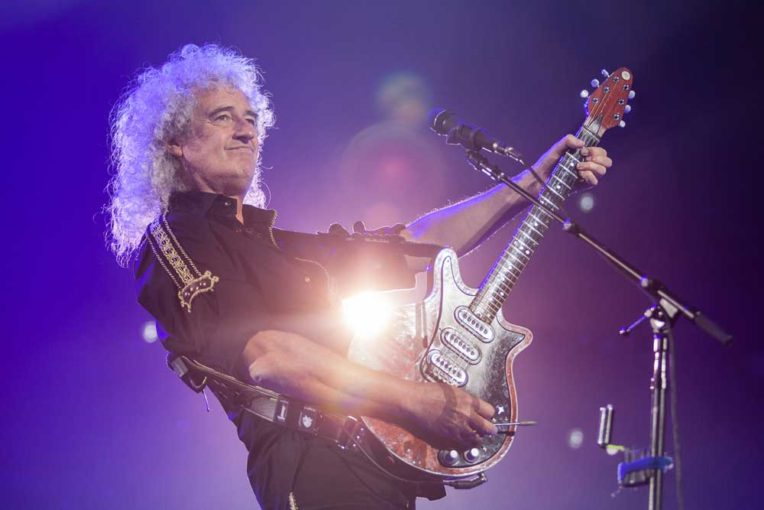 Queen Guitarist Brian May Wants Apology Following Altercation With Network News Cameraman