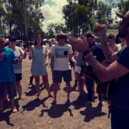 WATCH: Drake White sings for campers at CMC Rocks QLD