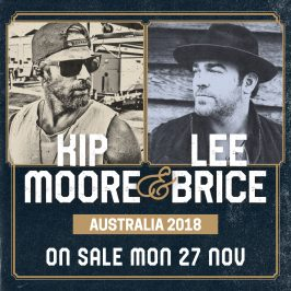 Kip Moore & Lee Brice to Co-Headline National Tour