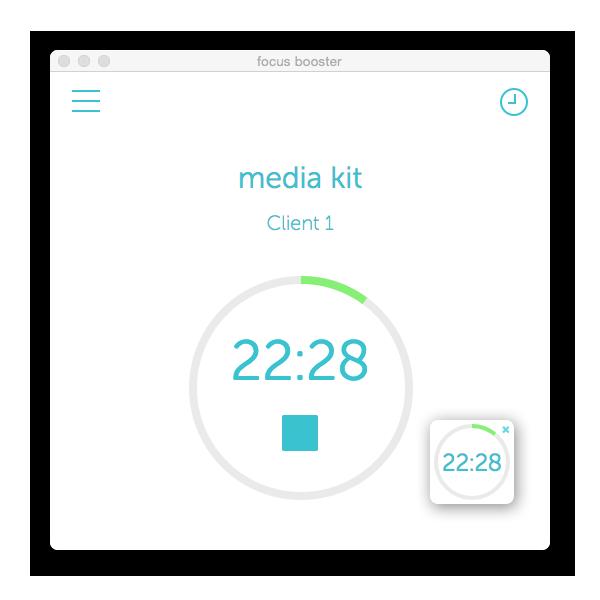 focus booster desktop app white