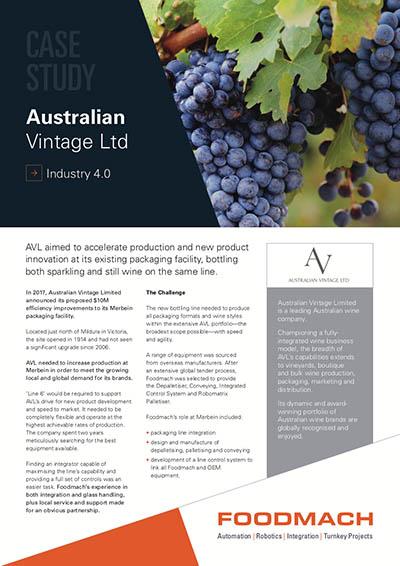 Australia Vintage Ltd Case Study