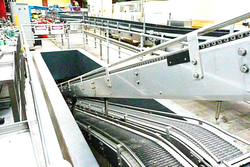 Foodmach Carton Decline Conveyor
