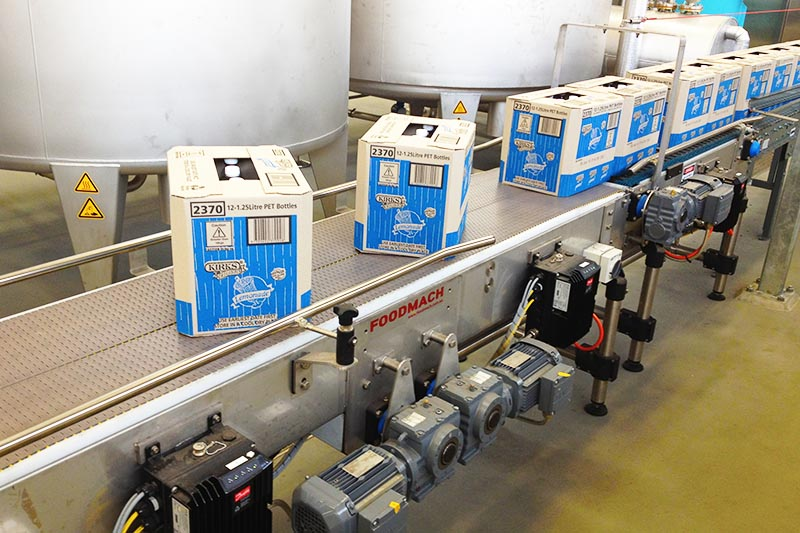 Foodmach Carton Turning Conveyor