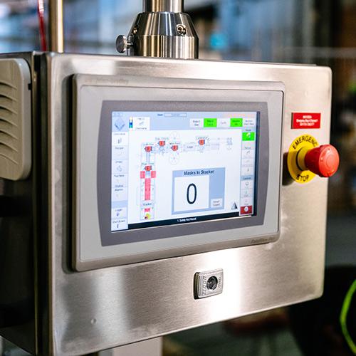 Foodmach line control system
