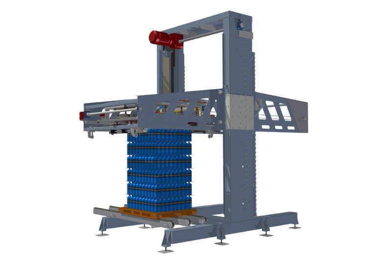 Mechanical Low Level Depalletiser