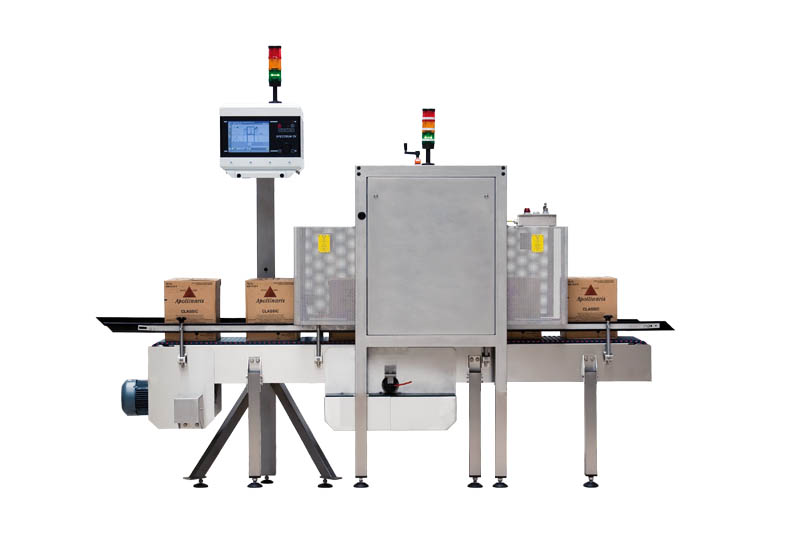HEUFT GX – for inspection of full food and beverage cases