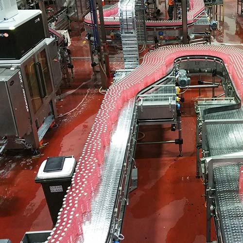 Bottling line integration