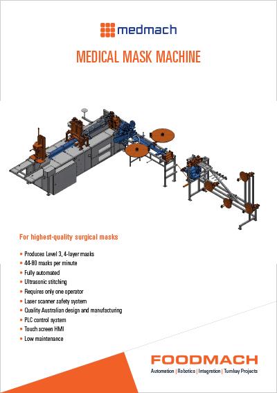 Medmach Medical Mask Machine