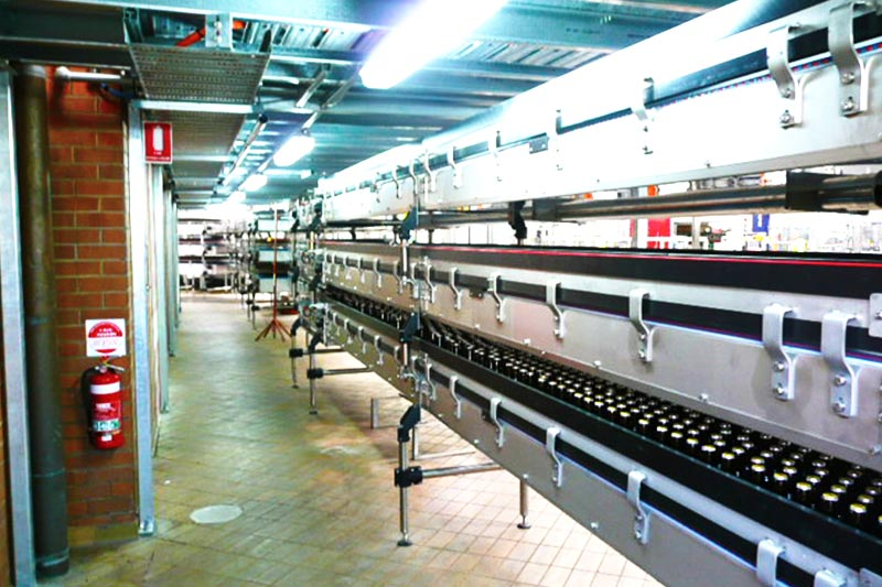 Multi Level Bottle Conveyor