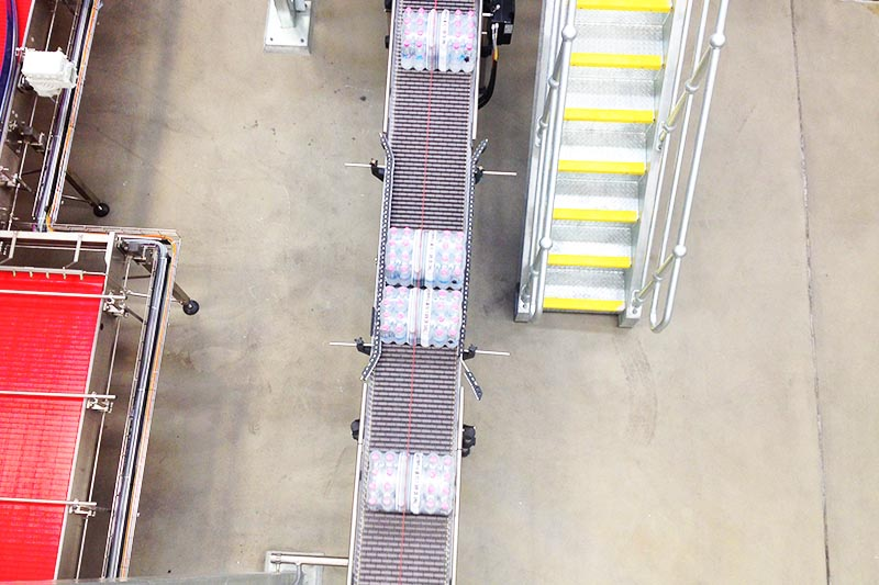 Foodmach Multipack Low Back Pressure Conveyor
