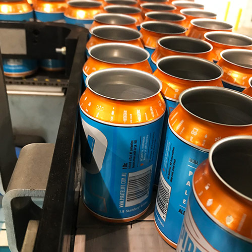Pirate Life craft brewery canning line