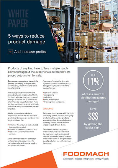 White Paper for Reducing Product Damage