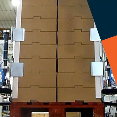 Automated Corner Protection for Pallet Wrapping