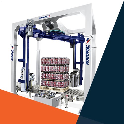 Robopac Rotary Arm Pallet Stretch Wrapping Australia