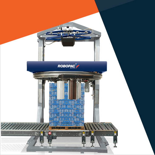 Robopac Ring Style Pallet Stretch Wrapping Australia