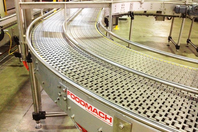 Sideflexing Mattop Conveyors