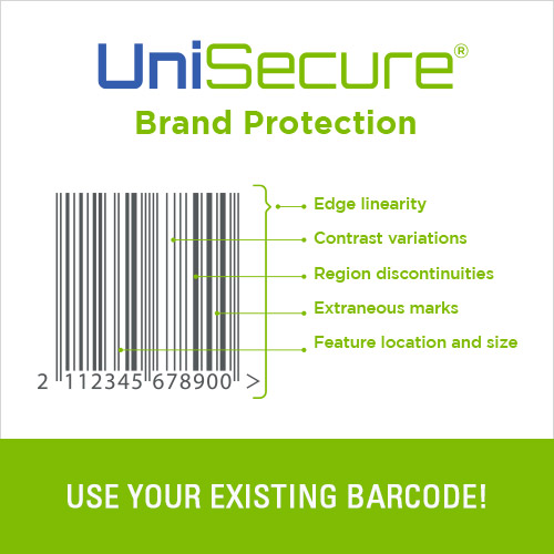 Use your product's existing barcode to trace it!