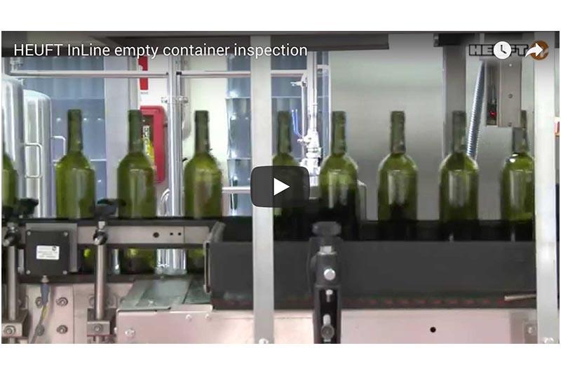 HEUFT InLine Empty Container Inspection Video