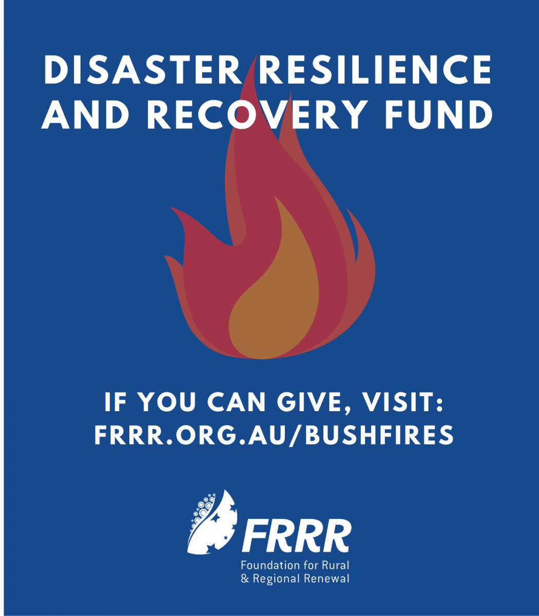 BUSH FIRE DISASTER RELIEF