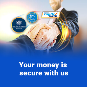 Your Money is Secure with Us