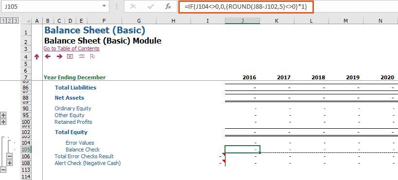 Error Checks Number Of Decimals Modano