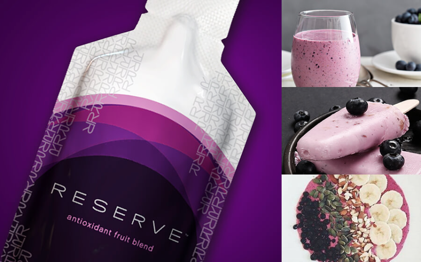 Feeling Fruity … Whip up some Reserve recipes.