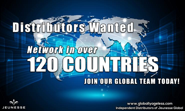 Jeunesse calls for distributors in 120 countries