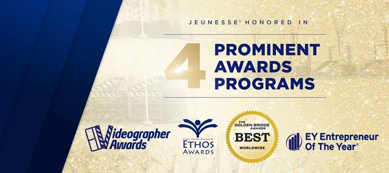 Jeunesse Named Company Of The Year And Collects 18 Awards