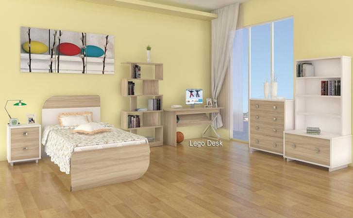 Bondi Bed Frame (single) FLOOR STOCK LEFT