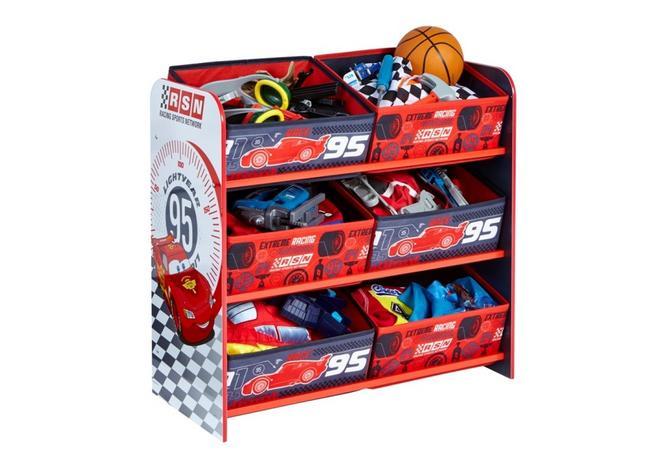 Cars 6 Bin Storage