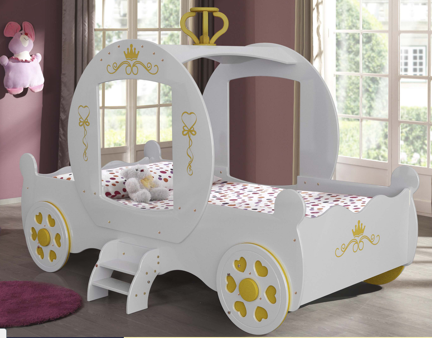 Cinderella Carriage Bed
