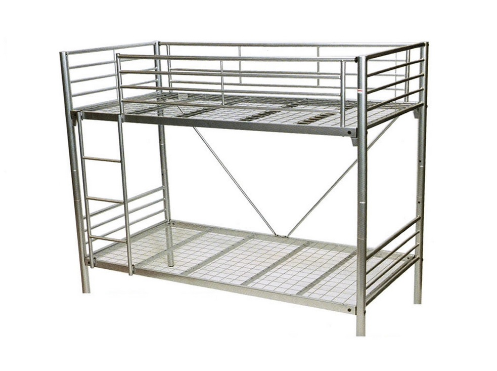 Matrix Bunk Bed - Single (Silver or White)