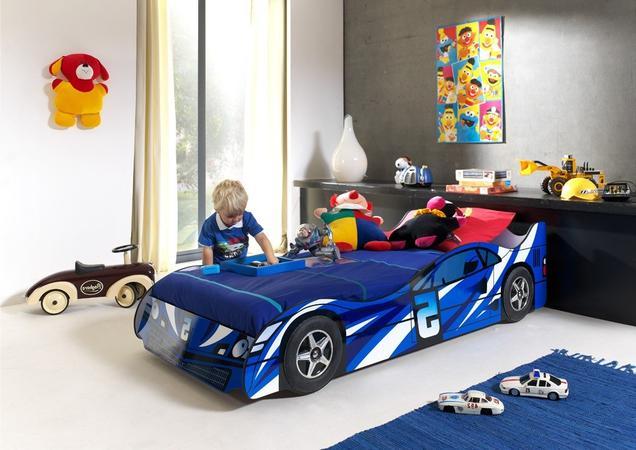 No.5 Car Bed (Blue)